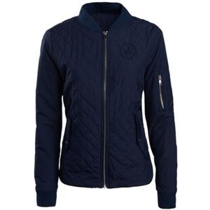 Mercedes Benz Lifestyle Quilted Flight Jacket